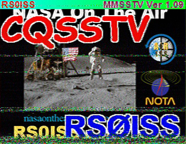 144 MHz: International Space Station on SSTV | dk5ai de